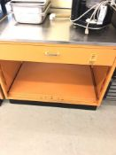 42 inch utility counter with drawer