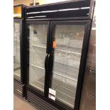 True two glass door cooler