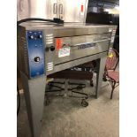 Baker's pride electric pizza oven