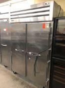 True two door refrigerator