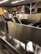 Krowne 36 inch ice sink with cold plate and bottle compartment