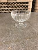 Lot glass fruit dishes