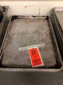 Half size aluminum sheet pans