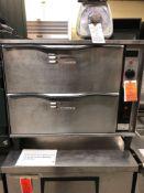 APW two drawer warmer