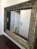 3' x 4' mirror with metal frame