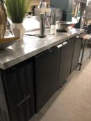 Continental draft beer unit