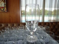 (311) Assorted Glasses with Racks