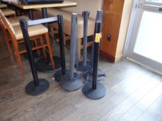(6) Stanchions