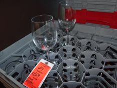 (269) Red Wine Glasses - Racks Not Included