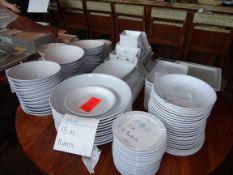(150) Assorted GET Dinnerware