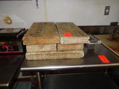 (1) Lot Wood Cutting Boards