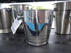 (1) Lot Ice Bucket and Plastic Water Pitcher