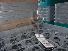 (325) White Wine Glasses - Racks Not Included