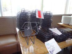 (42) Metal Assorted Bread Baskets