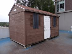 """(1) Reeds Ferry RF2535 American Pine Classic Shed. 8'3"""" X 14""""3"""" X 9'1"""" H."""