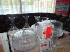 (1) Lot Assorted Glass Bowls Etc.