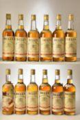 Bells Extra Special Scotch Whisky 1960's Bottling 26 2/3rds Fl Oz 70% proof 11 bts Bells Extra Speci