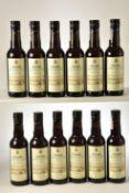 Collosia Amontillado seco Sherry 12 hf bts