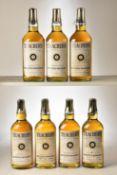 Teachers Scotch Whisky 1960's bottling 26 2/3rds Fl Oz 70% Proof 7 bts