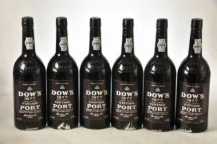 Dow's Vintage Port 1977 6 bts