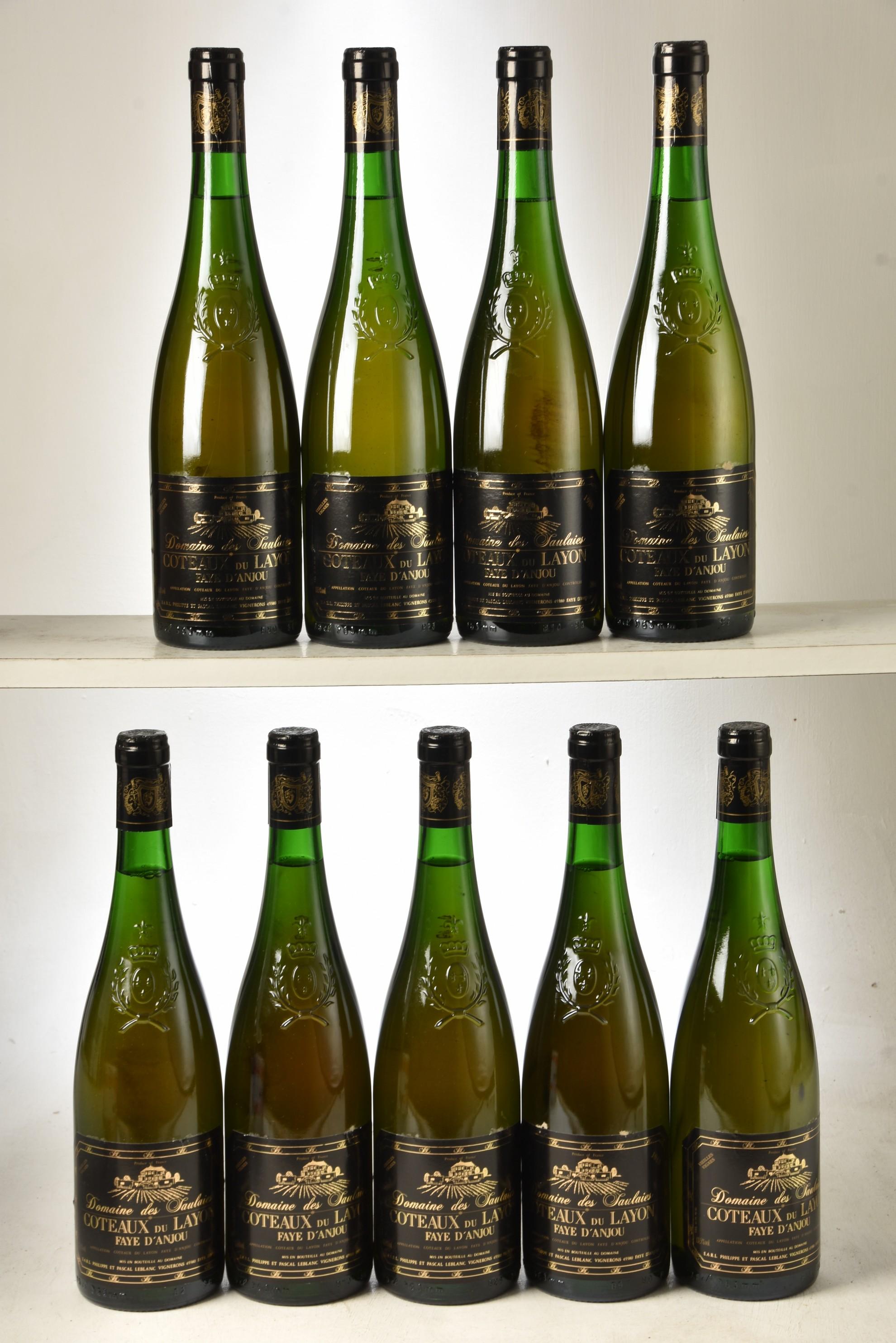 Coteaux Du Layon Vieilles Vignes 1988 Domaine Des Saulaies 9 bts