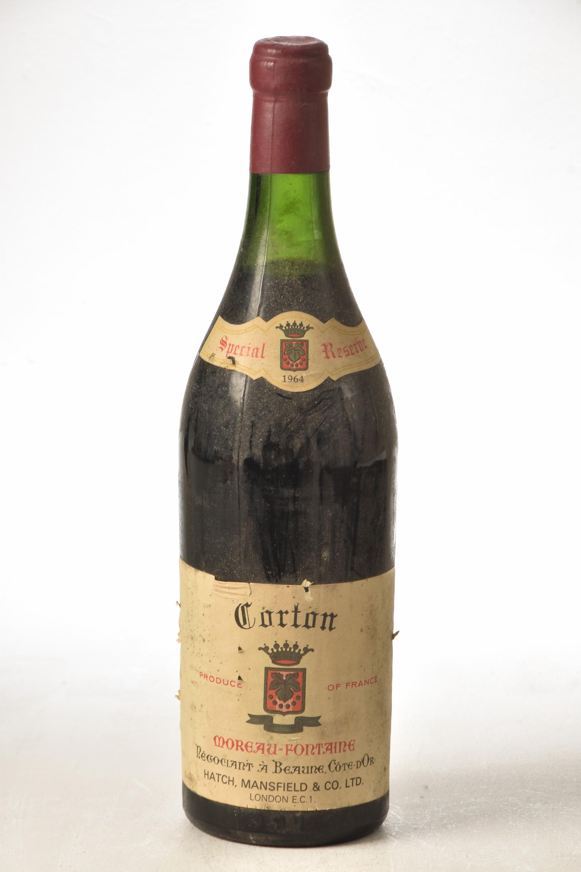 Corton 1964 Moreau-Fontaine 1 bt