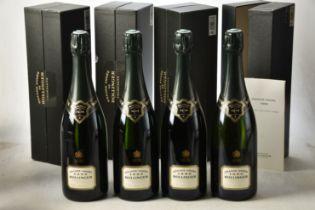 Champagne Bollinger La Grande Annee 1996 4 bts
