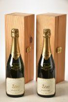 Champagne Drappier Brut Vintage 1995 Millenaire 2 bts