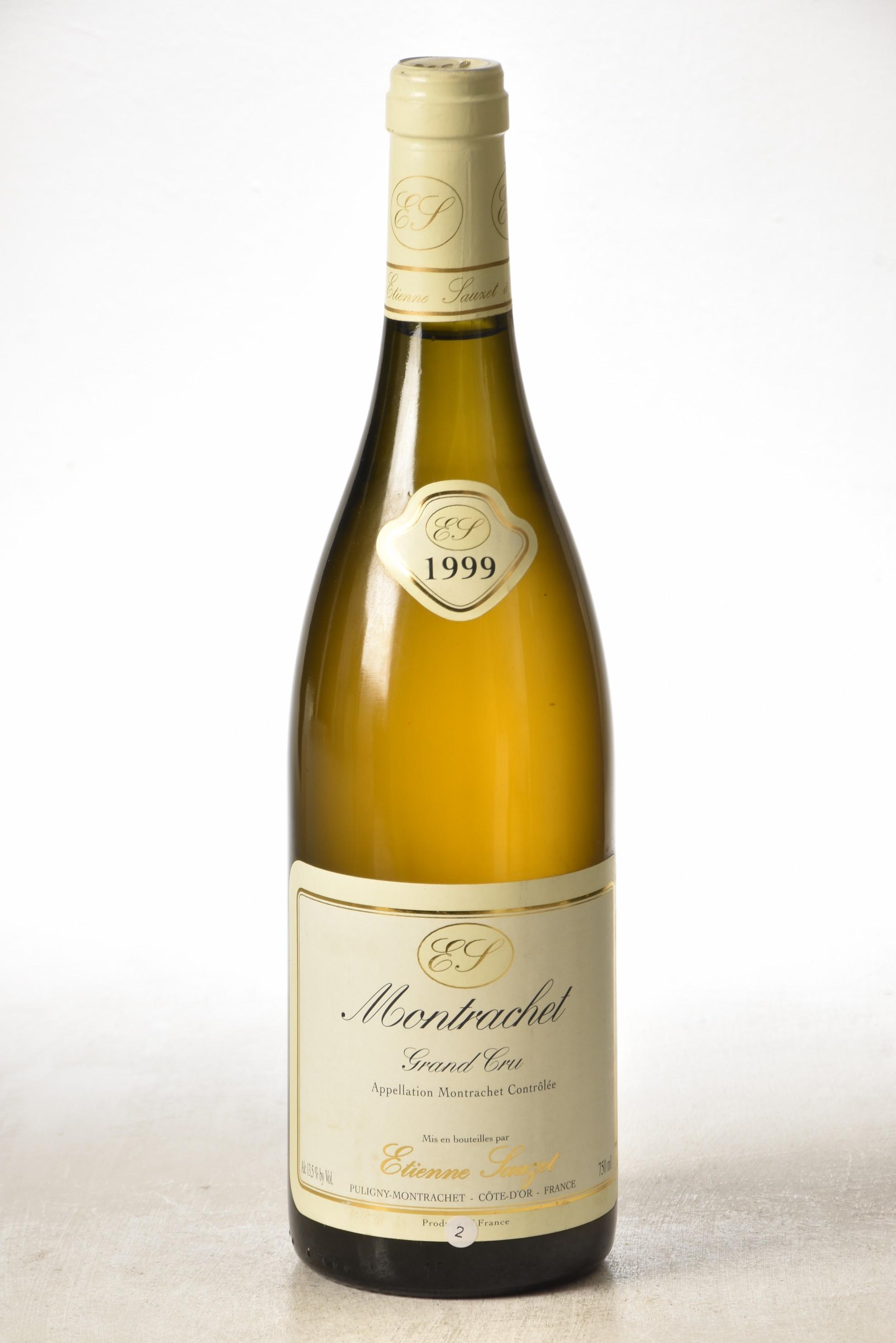 Montrachet 1999 Domaine Etienne Sauzet 1 bt