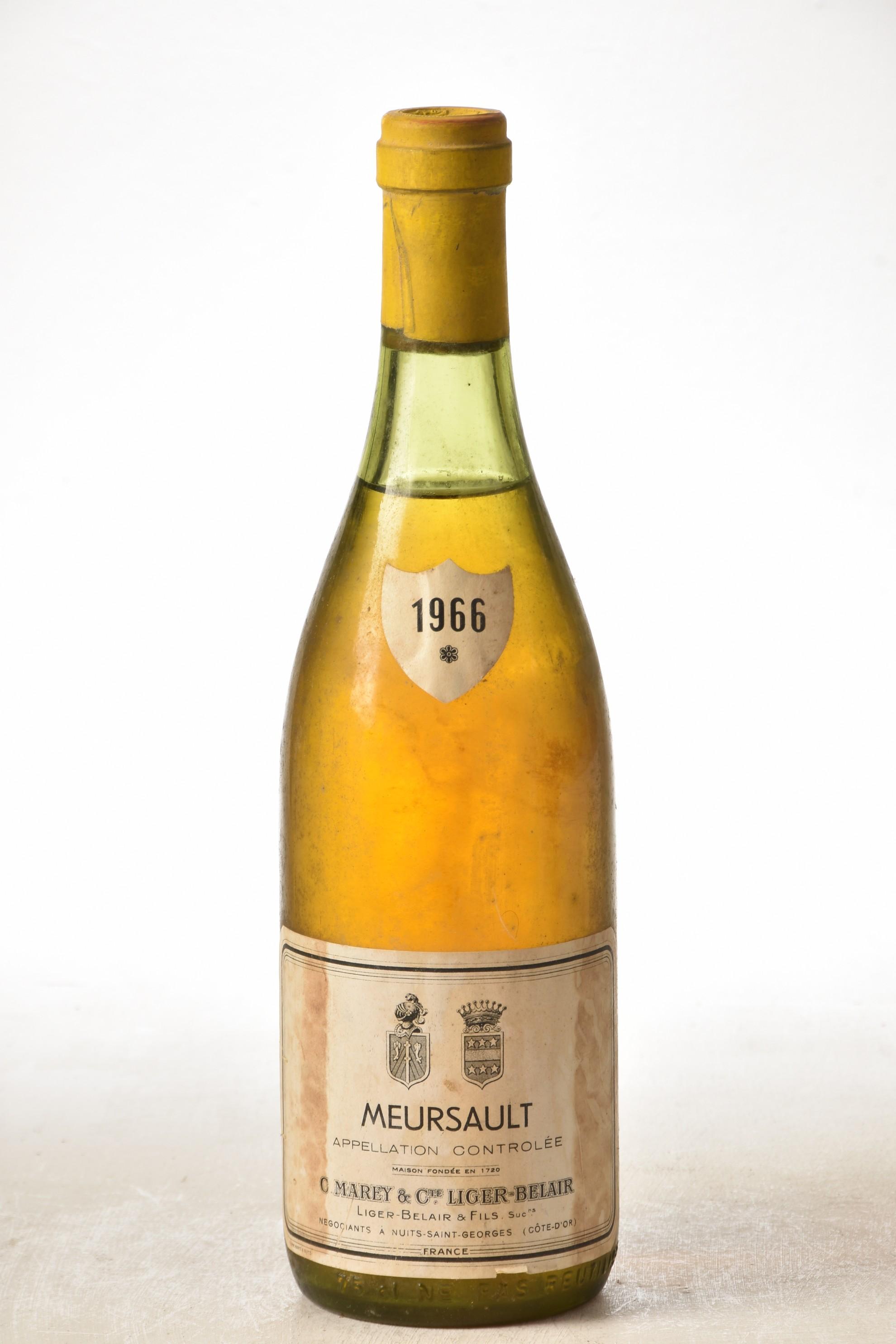 Meursault Liger-Belair 1966 1 bt