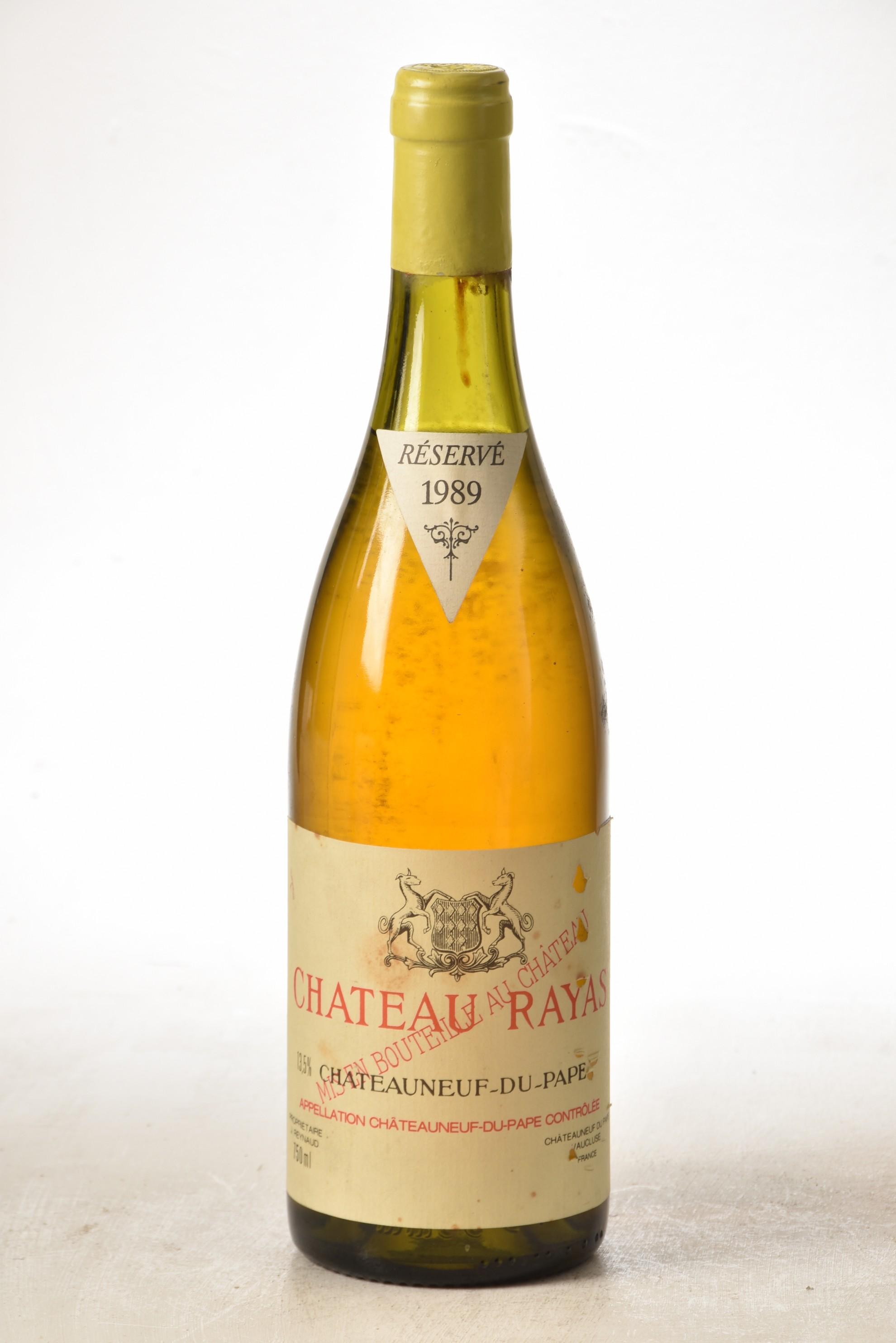 Chateauneuf du Pape Blanc Chateau Rayas 1989 1 bt