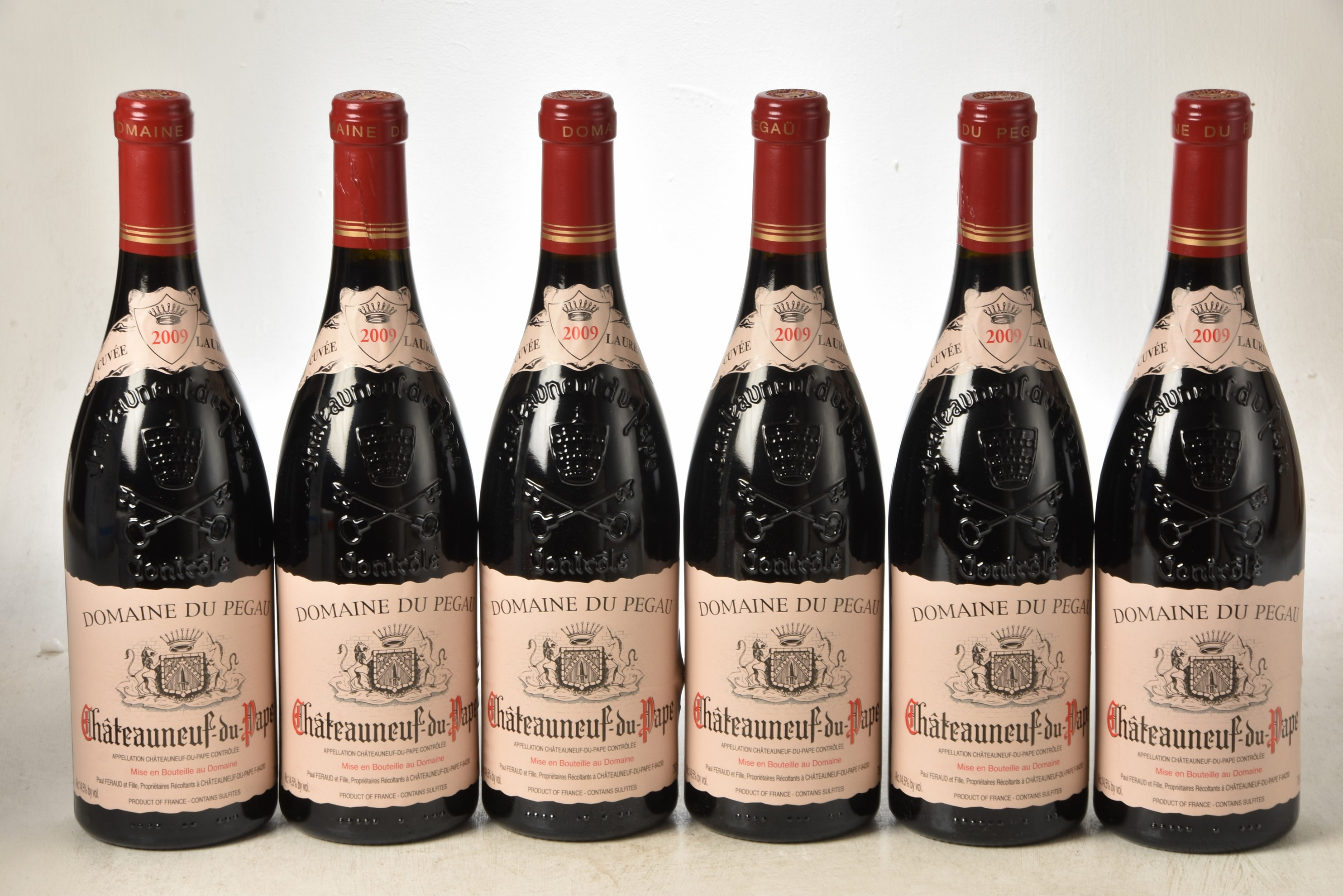 Chateauneuf du Pape Cuvee Laurence 2009 DomainePegau 6 bts IN BOND