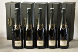 Champagne Bollinger La Grande Annee 1990 5 bts