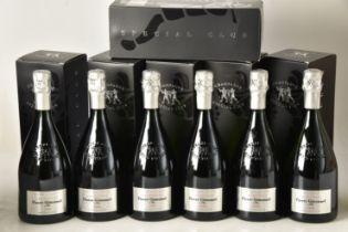 Champagne Gimonnet, Millesime de Collection Special Club 2008 6 bts OCC IN BOND