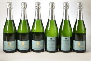 Champagne Eric Legrand Blanc de Blancs 2008 Labeled for Belliard 6 bts OWC IN BOND