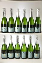 Champagne Eric Legrand Blanc de Blancs 2008 Labeled for Belliard 12 bts OWC IN BOND