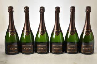 Champagne Krug 2004 6 bts OCC IN BOND
