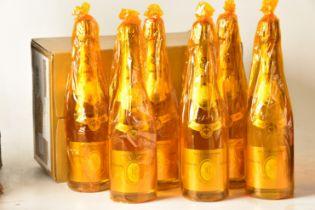 Champagne Louis Roederer Cristal 2008 6 bts OCC IN BOND