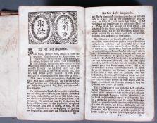 Religiöses Buch des 18. Jahrhundert. Leiden und Sterben unsers Erlösers Jesu Christi