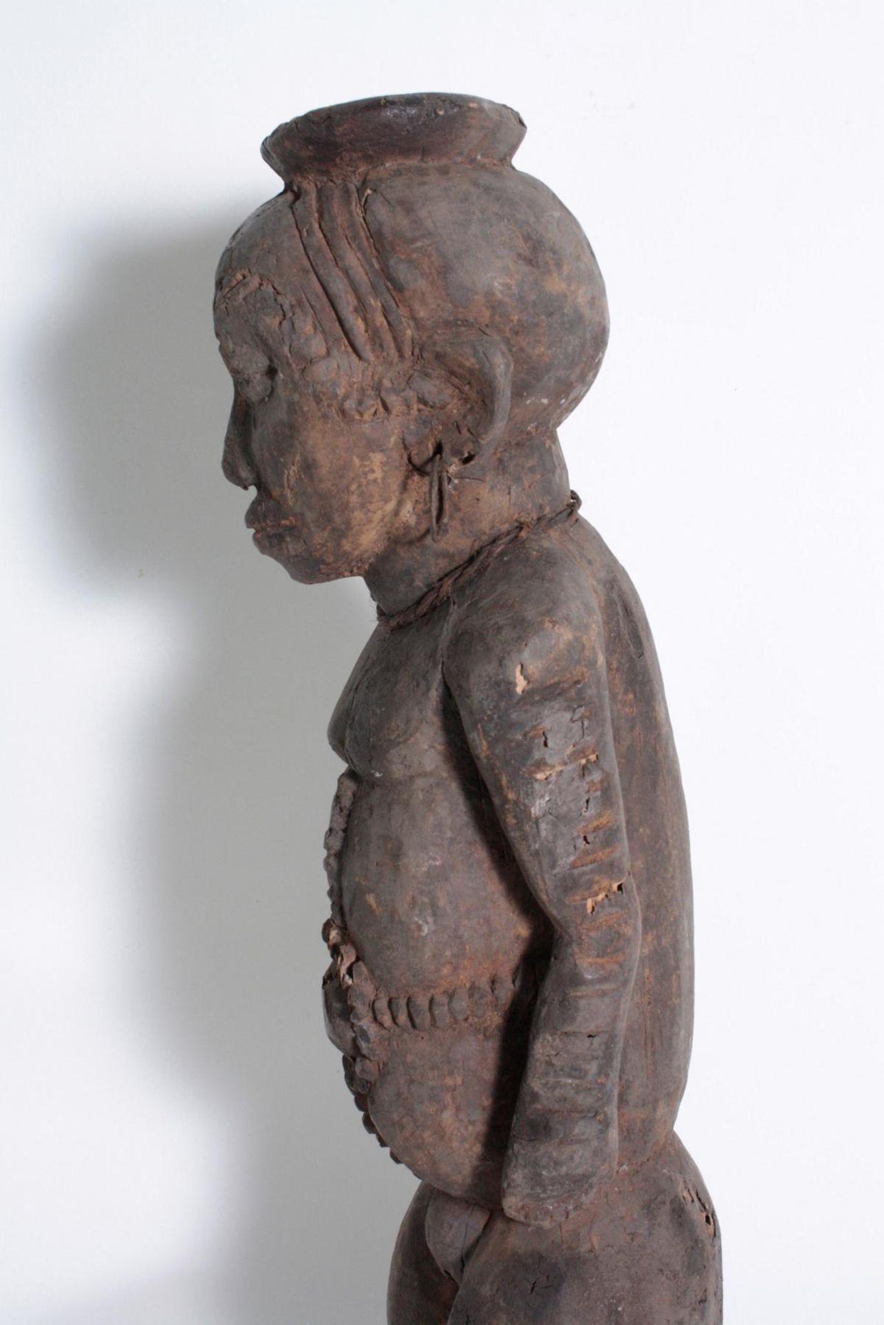 Ältere Ahnen-Figur, Tabwa, D. R. Kongo - Bild 5 aus 14