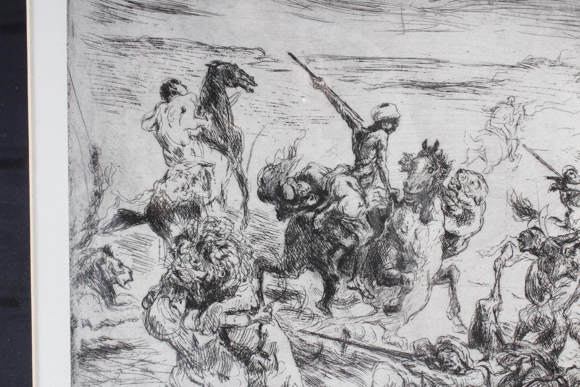 Max Slevogt (1868-1932), Löwenjagd - Bild 5 aus 7