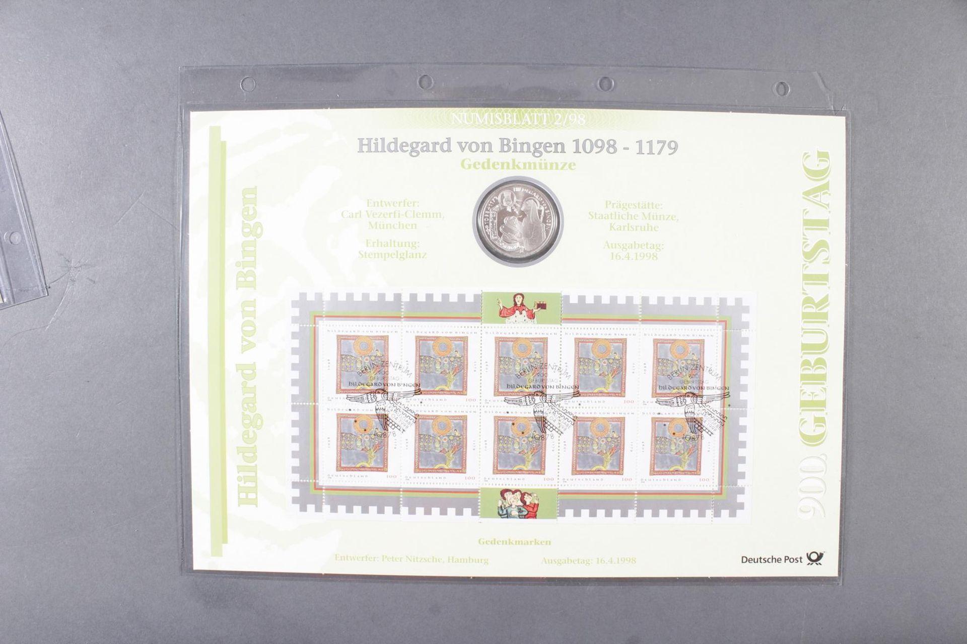 Münzsammlung Thema Vatikan / Kirche; inkl. Euro-Münzen - Bild 3 aus 4