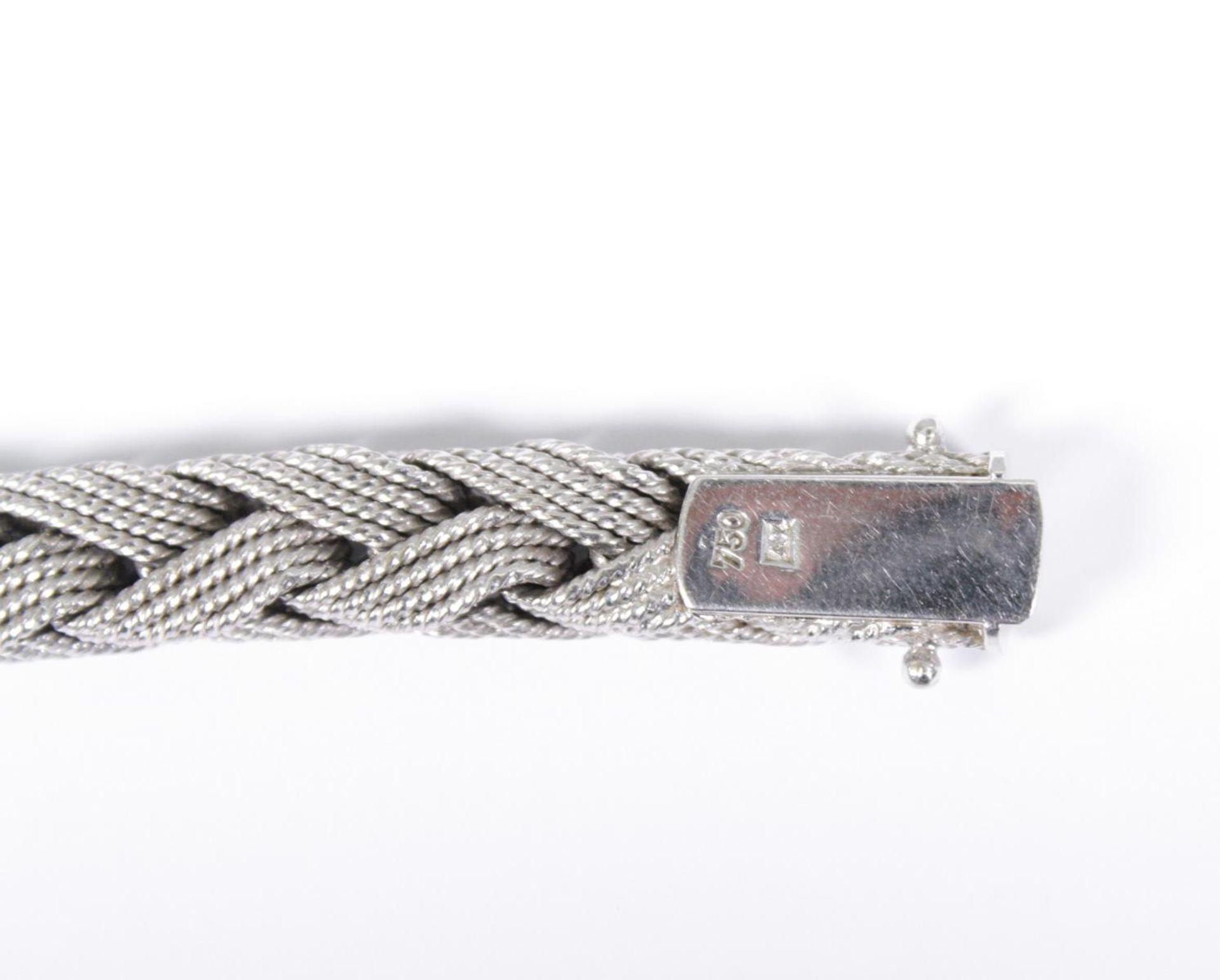 Damenarmband aus 18 Karat Weißgold - Bild 4 aus 4