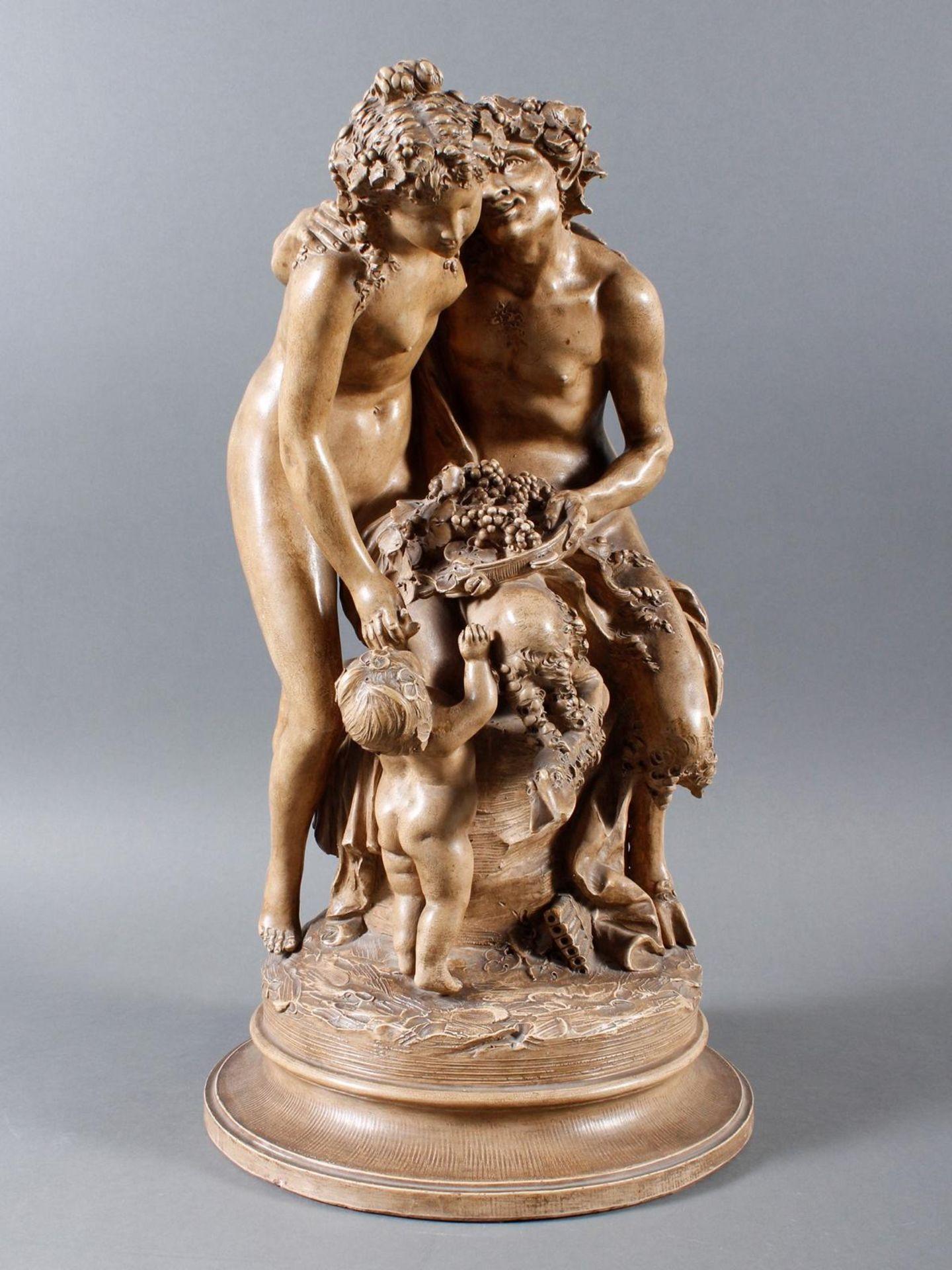 Terakottafigur, Clodion, Claude-Michel (1738-1814), 19. Jahrhundert