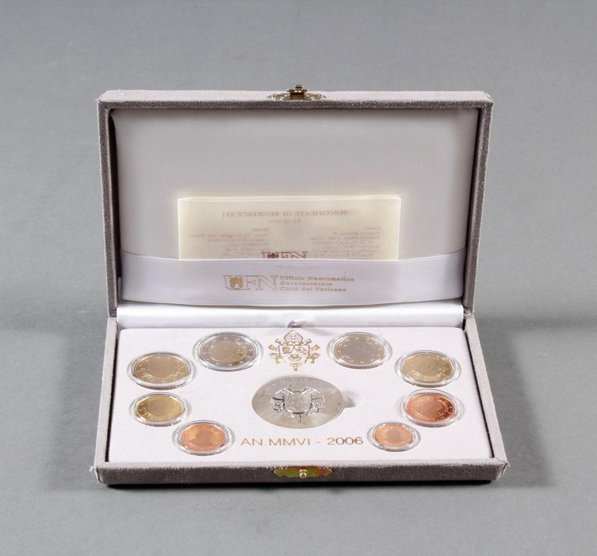 Vatikan PP KMS (Kursmünzensatz) 2006