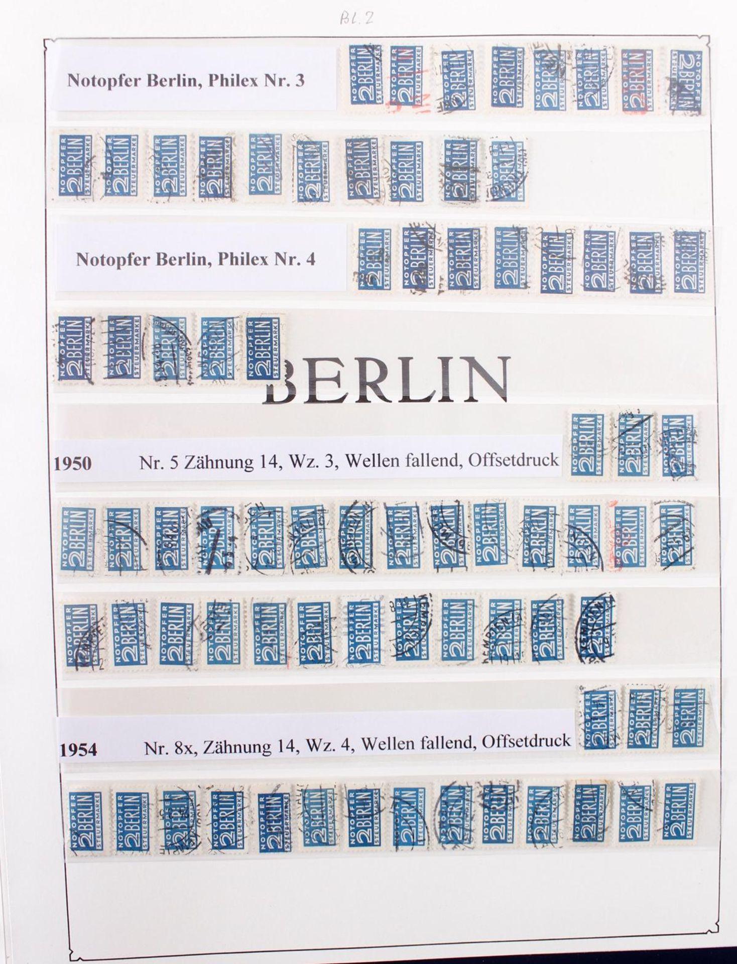 Berlin, 1948-1990 , gestempelt, Spitzensammlung! - Bild 10 aus 11