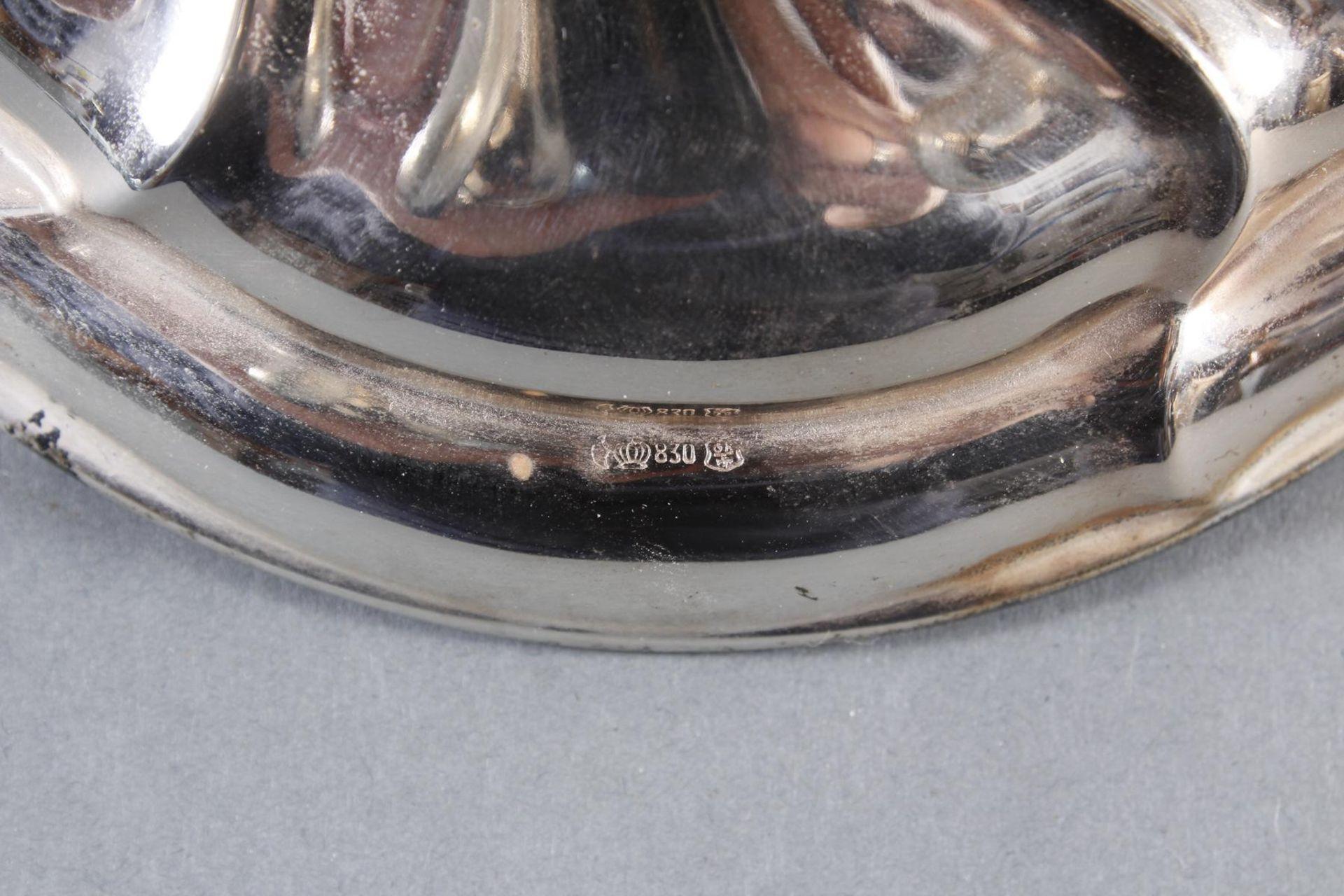 Silberner Kerzenständer - Bild 3 aus 4