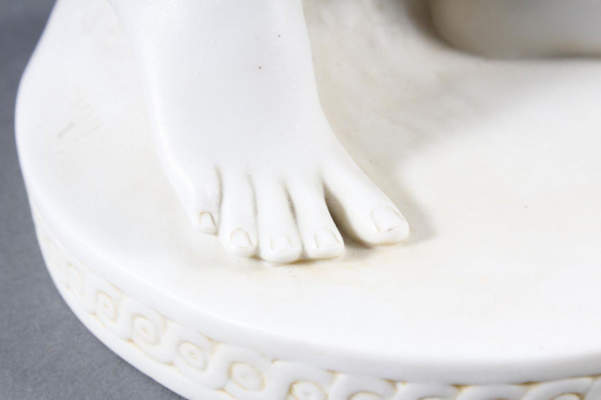 Porzellanskulptur, Kugelspielerin, Scheibe-Alsbach - Bild 13 aus 15