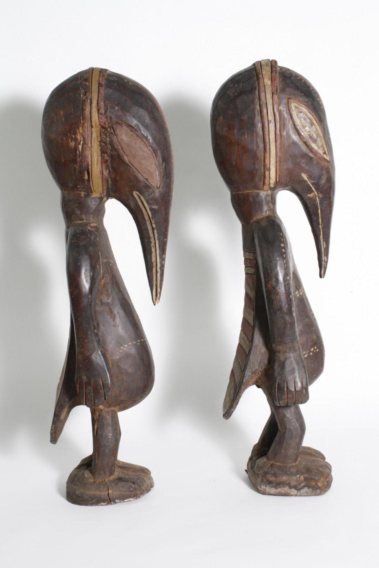 Figurenpaar, Calao , Senufo, Elfenbeinküste, 1. Hälfte 20. Jh. - Bild 4 aus 5