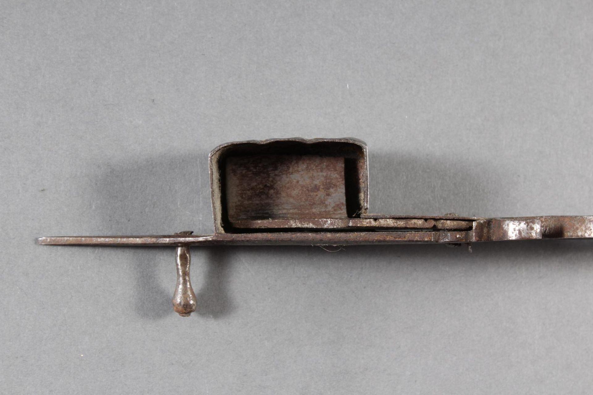 Eisen-Dochtschere, England 18./19. Jahrhundert - Bild 5 aus 6